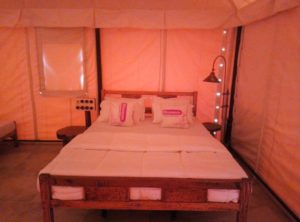 Comfortable Beds at Kundalika Camp at Kolad