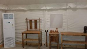 Comfortable Kundalika Ac Tents
